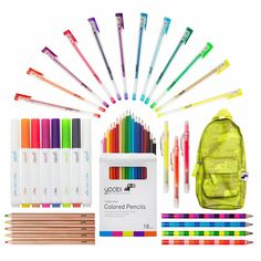The Yoobi Colorful & Crafty Grown Ups Bundle will help you express your creativity!