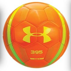 543092cc8 Under Armour 395 Blur Soccer Ball Size 4 Vivid Orange Bitter Sunbleached  for sale online