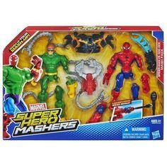 Marvel Super Hero Mashers Spider-Man vs. Doc Ock Mash Pack New #Marvel
