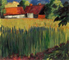 Hermann Max Pechstein, Kornfeld, 1922, Auktion 905 - 900. Auktionen - Moderne Kunst, Lot 802 #diebruecke #thebridge