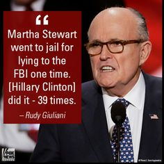 Lock her up already!!!  --FIRE USELESS #USSY SESSIONS & make Rudy our Attorney General!