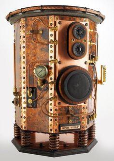 Steampunk Tendencies - Speakers - from Etsy #steampunk - ☮k☮