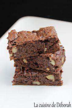 Brownie au yaourt Grec   Cuisine de Deborah