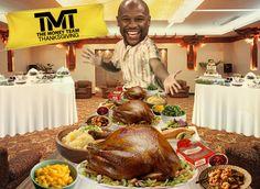 Floyd Mayweather: My Thanksgiving Weigh In ...100lbs of Turkey!!! | TMZ.com