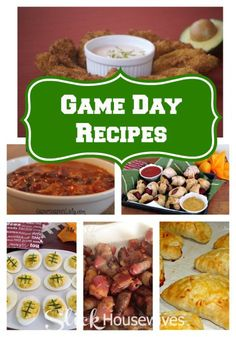 FOOTBALL Food Recipes: These easy football recipes include appetizers, dips, desserts, casseroles and much more. Make sure you are prepared for football season with these delicious football favorites! - slickhousewives.com