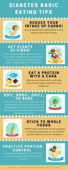 Cooking for diabetes never tasted so good…and the whole family will benefit from healthier eating. Just follow these basic eating tips. #diabetes #healthyeating
