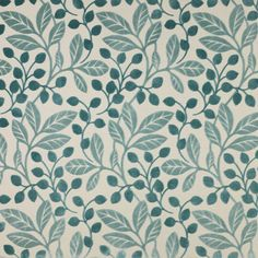 Jane Churchill's Maywood #janechurchill #textiles #fabric #leaves #foliage