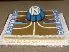 UNC batchlor party cake