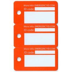 ID Tags – Emergency ID