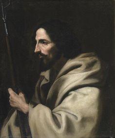 Santo Tomás - Colección - Museo Nacional del Prado, Madrid by José de Ribera