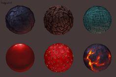 Material studies 1 by BaukjeSpirit.deviantart.com on @deviantART