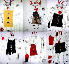 čertíci Drawing For Kids, Art For Kids, San Antoni, Diy And Crafts, Crafts For Kids, Christmas Crafts, Xmas, Saint Nicholas, Teaching Art