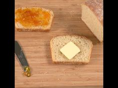 Lovely English Muffin Bread To Make - Afternoon Baking With Grandma
