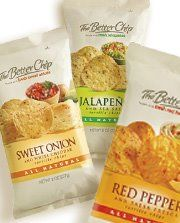 The Better Chip- love the red pepper alone or with some yummy hummus! Must have available for serious snacking!