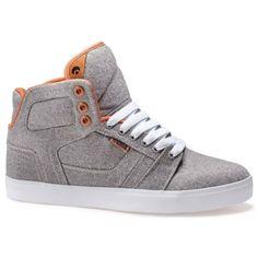 Osiris Effect Men's Skate Shoes Grey/Tan/White #osirisshoes