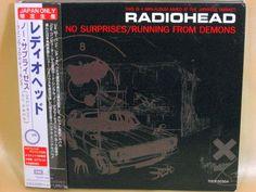 CD/Japan- RADIOHEAD No Surprises/Running From Demons 6trx EP w/OBI RARE LIMITED