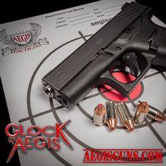 Here is a sneak peek of the #Glockofaegis #g43 being released on Saturday June 3 2017. #glock #threadedbarrel #matchgrade @aegistactical #aegistactical @premium_guns