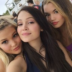 Olivia Holt, Kelli Berglund and Paris Berelc