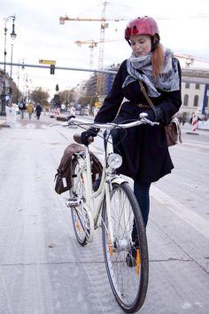 Beautiful Bike Helmet