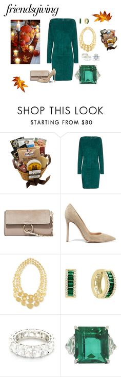 """Guest"" by meesh57 on Polyvore featuring Jitrois, Chloé, Gianvito Rossi, Marco Bicego, Bloomingdale's and Harry Winston"