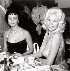 Sophia Loren y Jayne