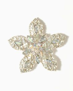Sparkle Snowflake Brooch | charming charlie