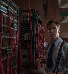 The Imitation Game - winner at TIFFF (Toronto Film Festival 2014)  Directed by Morten Tyldum.  With Benedict Cumberbatch, Keira Knightley, Matthew Goode, Mark Strong. English mathematician and logician, Alan Turing, helps crack the Enigma code during World War II.