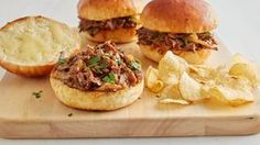 Slow-Cooker French Onion Shredded Beef Sandwiches