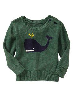 Gap | Whale intarsia sweater