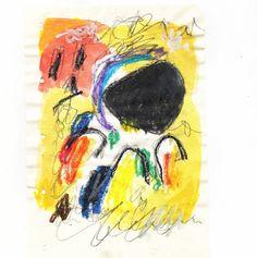 100daysofabstractsketch: Day 41 / Kandinskij mon amour