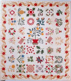 In the Swan's Shadow: Album quilt, Maryland 1860-70