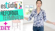 Estúdio T 🏠 A REFORMA!   Ep. 04 + Banqueta DIY