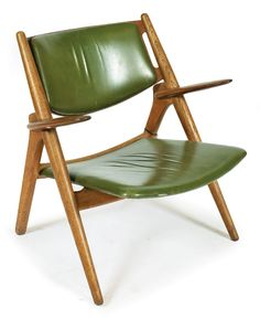 Hans Wegner (1914-2007), a Sawback armchair, manufactured by…