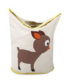 Foldable Baby Deer Laundry Bag cum Storage Box for Kids