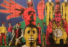 Gilbert et Georges(ギルバート&ジョージ) Gilbert & George, Ways Of Seeing, Portrait Art, Contemporary Artists, Screen Printing, My Arts, Fine Art, Slam Dunk, Prints
