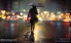is it an amazing moment when you walk throught the lights of a city at night-in the rain-with friends....?