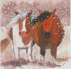 Winter Christmas Horses - Bing Images