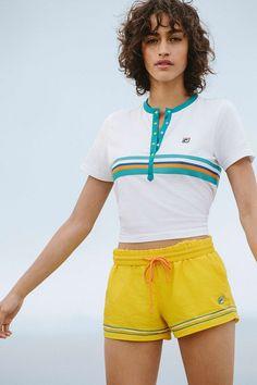 FILA + UO Tina Logo Shorts