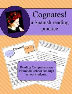 """A high quality READING activity for your Spanish students that you can download and use immediately!This lesson fully covers the National Foreign Language COMPARISONS Standard 4.1.Students practice their reading comprehension abilities and keep that """"Affective Filter"""" (Krashen) open!"""