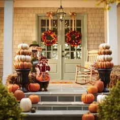 Decorate Your Porch with the Best in Harvest Style | Garden Club