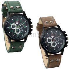 Exquisite Mens Charm Fashion  Analog Date Quartz Digital Calendar Wrist Watches #Unbranded