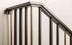 Barcode Picket Rail Stair System Hand Rail Detail