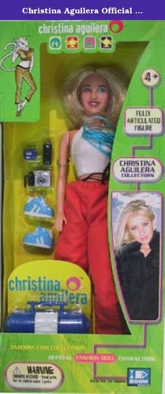 Christina Aguilera Official Fashion Doll Characters. Ages 4 and up.