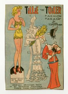 78.2328: Tillie the Toiler | paper doll | Paper Dolls | Dolls | National Museum of Play Online Collections | The Strong