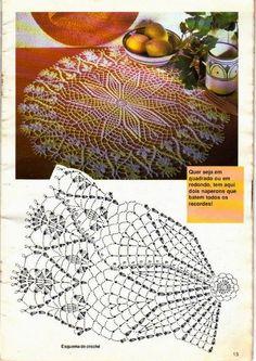 Kira scheme crochet: Scheme crochet no. 698