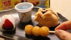 Le dernier kit Kracie de la série Happy Kitchen permet de réaliser les friandises japonaises traditionnelles taiyaki au chocolat, daifuku à la fraise et dango. Tout est inclus dans le kit, vous avez juste besoin d'un peu d'eau et d'un four à micro-ondes. Une friandise sans colorants ni conservateurs artificiels.