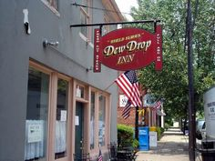 "The ""real"" Dew Drop Inn - Scottsville, Virginia next to Schuyler, Virginia which is also known as Walton's Mountain - We ate here after visiting The Walton's Museum in Schuyler."
