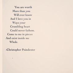 "227 Likes, 15 Comments - Christopher Poindexter (Poet) (@christopherpoindexter) on Instagram: """"Blossom:blossom in me"" series poem #17 #poem #poetry #art #artist #love #inspire #inspiration"""