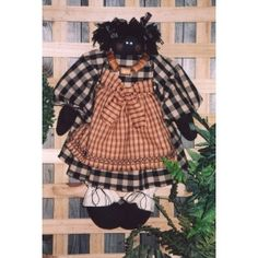 Minnie the golly doll girl pattern