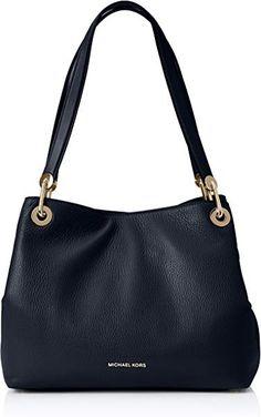 Michael Kors Handbag Women s Raven Large Leather Shoulder Bag d9cba764e5106